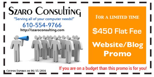 Szaro Consulting - 2016 Website Promo